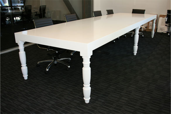 Hollywood Regency Conference Table