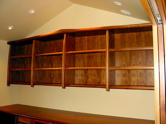 Jatoba Office Cabinetry