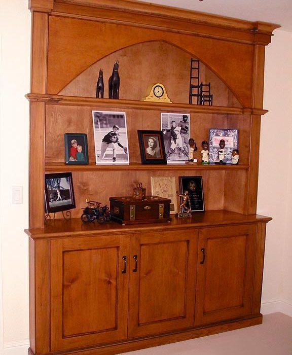 Alder Built-in Cabinetry