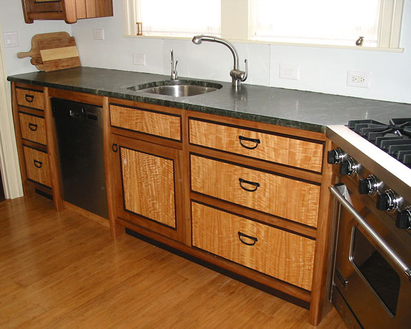 Elm and Eucalyptus Kitchen