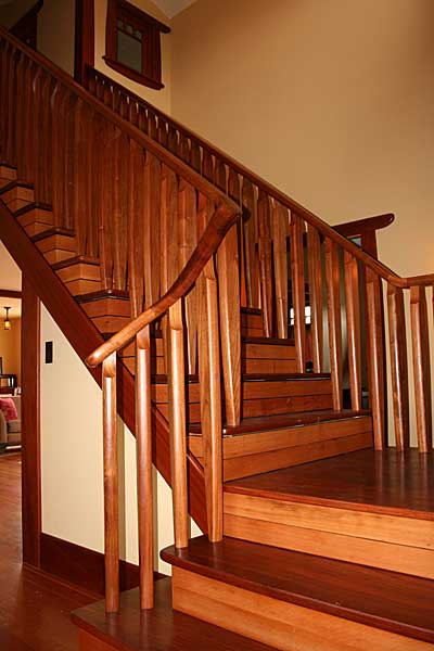 Jatoba Stairway