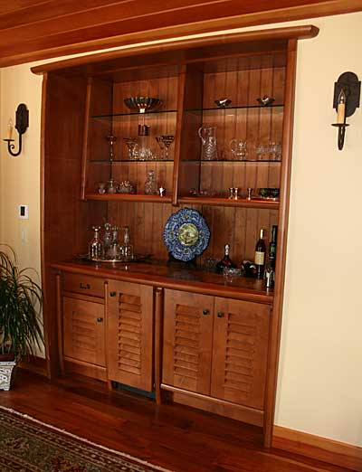 Alder Bar Cabinetry