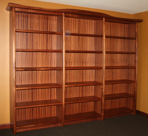 Sapele Library Bookcase