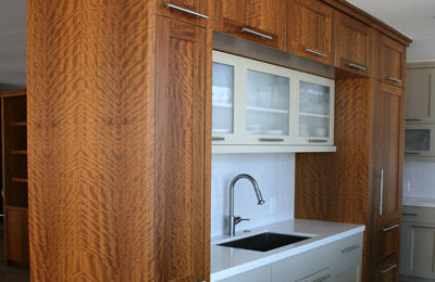 Olive Wood Kitchen Cabinetry