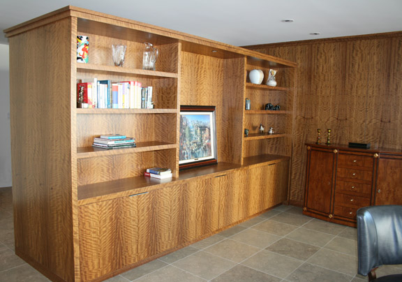 Olive Wood Cabinetry