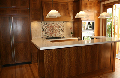 Olive Craftsman Kitchen Cabinetry