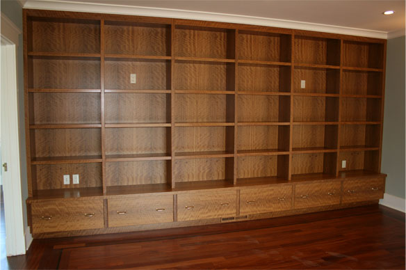 Olive Wood Bookcase