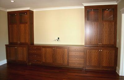 Olive Wood Built-Ins